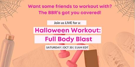 Halloween Workout: Full Body Blast entradas