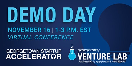 Georgetown Startup Accelerator Demo Day tickets