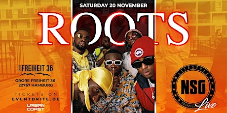 ROOTS X NSG Tickets