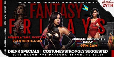 Fantasy Fridays: Jumbee Jam Costume Fete Edition tickets
