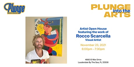 Plunge Into The Arts with Rocco Scarcella tickets