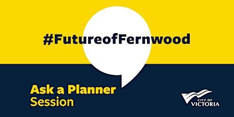 Ask a Planner – Fernwood Draft Neighbourhood Plan tickets