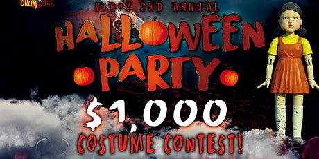 Vibez 2nd Annual Halloween Party tickets