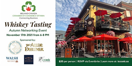 Networking and Whiskey Tasting with ICCCOTT tickets