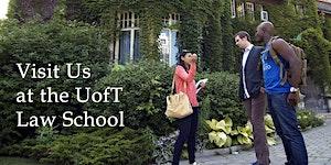 U of T Law - JD Campus Tours - Winter 2016