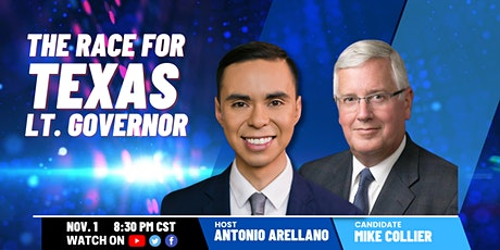 A Conversation with Mike Collier, Democratic Candidate for Lt. Gov of Texas tickets