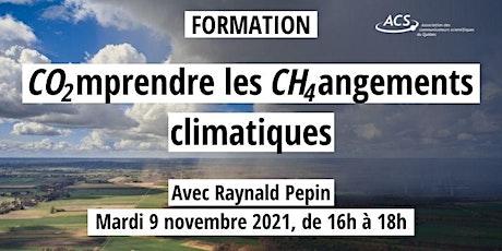 Formation ACS / Comprendre les changement climatiques billets