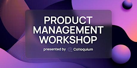 Product Management Workshop tickets