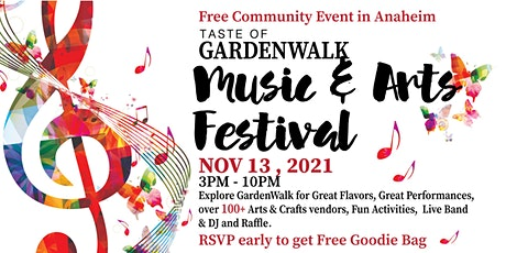 Music & Arts Festival-Taste of GardenWalk tickets