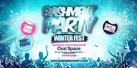 Bashment Party - Winter Fest tickets