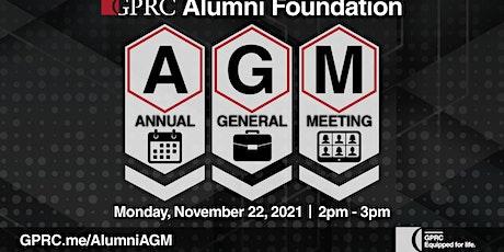 GPRC Alumni Foundation Annual General Meeting tickets