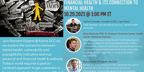 Financial Health & Its Connection to Mental Health tickets