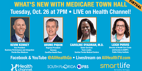 What's New with Medicare: Virtual  Town Hall tickets