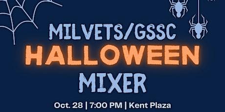 GSSCxMilVets Halloween Mixer tickets