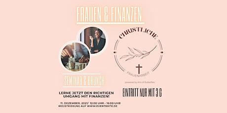 Frauen & Finanzen - Seminar & Brunch Tickets