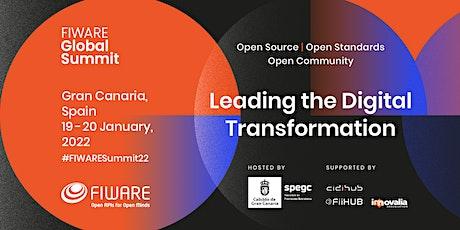 FIWARE Global Summit Gran Canaria 2022 entradas