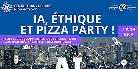IA, éthique et Pizza Party ! tickets