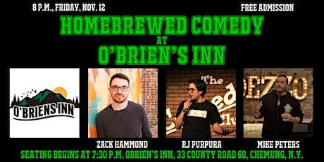 Homebrewed Comedy at O'Brien's Inn tickets