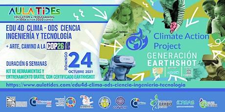 AULATIDEs  EDU4D CLIMA-ODS-CIENCIA-INGENIERÍA Y TECNOLOGÍA CAMINO  COP26 entradas