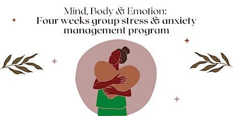 Mind, Body & Emotion  - 4 week group wellness program tickets