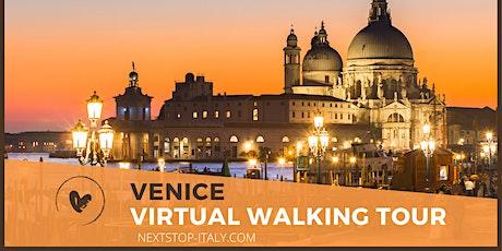 VENICE GOLDEN HOUR- Virtual Walking Tour at Sunset tickets