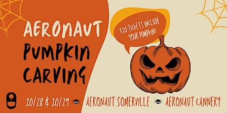 AERONAUT Pumpkin Carving tickets