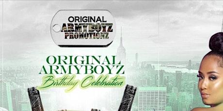 ORIGINAL ARMYBOYZ BIRTHDAY WEEKEND tickets