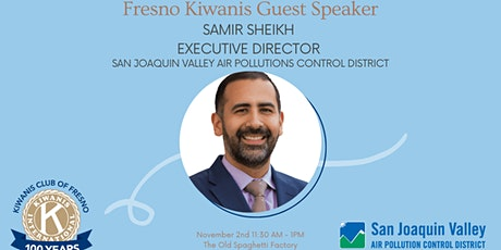Guest Speaker Executive Director, San Joaquin Valley Air Pollutions Control tickets