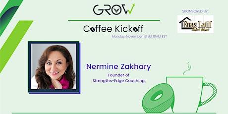 Virtual Coffee Kickoff - Nermine Zakhary tickets