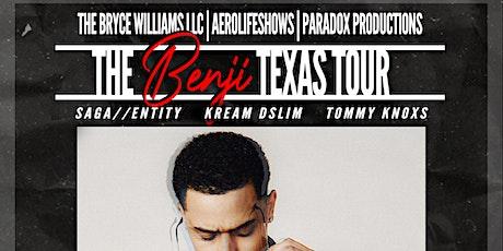 THE BENJI TEXAS TOUR: SAN ANTONIO tickets