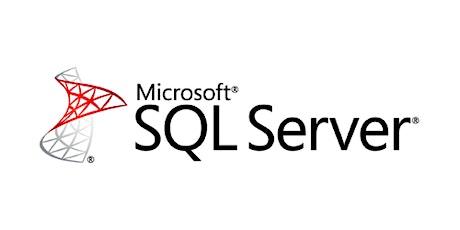 Master SQL Server Training in 4 weekends training course in Monterrey entradas