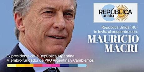 Encuentros Relevantes con Mauricio Macri. entradas