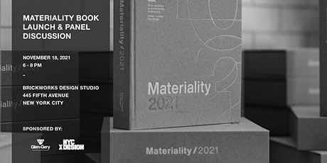 New York City: Materiality Book Launch + Panel Discussion tickets