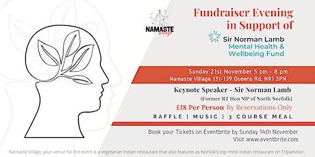 Fundraiser Evening | Mental Health & Well being tickets