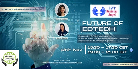 Future of EdTech - Online Pitch Event tickets