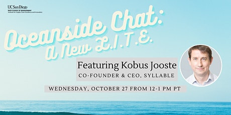 Oceanside Chat: A New L.I.T.E. featuring Kobus Jooste tickets