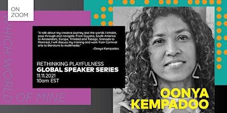 Global Speaker Series - Oonya Kempadoo tickets