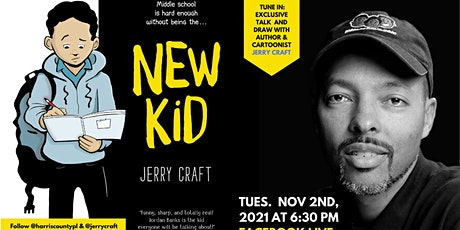 Live with New Kid Author Jerry Craft! tickets