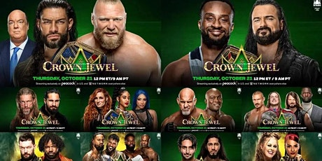 StREAMS@>! r.E.d.d.i.t-WWE CROWN JEWEL Fight LIVE ON FrEE 21 Oct 2021 tickets