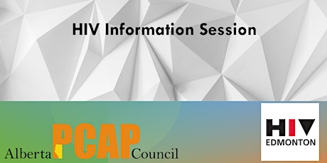Virtual Information Session about HIV and STI -by HIV Edmonton tickets