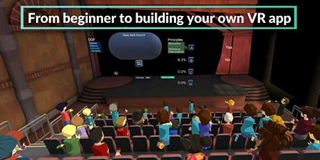 Learn Virtual Reality(VR) Development in VR With Unity tickets