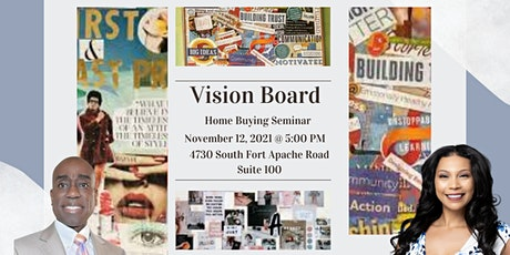 Vision Board and Goal Setting tickets