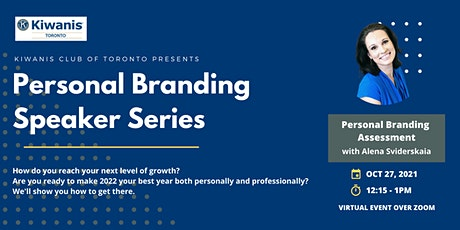 Personal Branding Speaker Series: Personal Branding Assessment with Alena S tickets