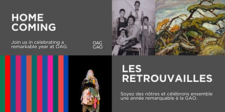 OAG Home Coming: Your Art is HERE. billets