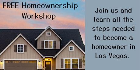 FREE Homeownership Workshop tickets
