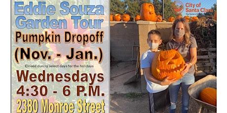 Garden Tours at Eddie Souza Park (Pumpkin Drop-off) tickets