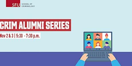 Criminology Alumni Series (November 2-3) entradas