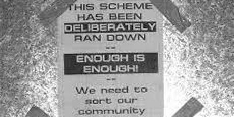 The social & environmental cost of public housing demolition & development tickets