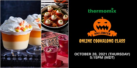 Thermomix® Virtual Cooking Class: Halloween tickets