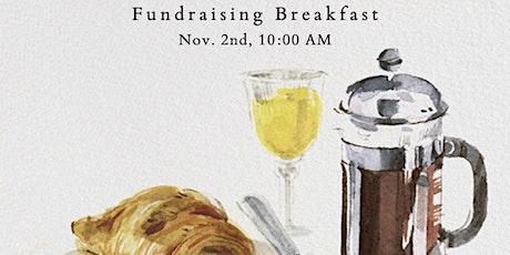 Fundraising Breakfast tickets